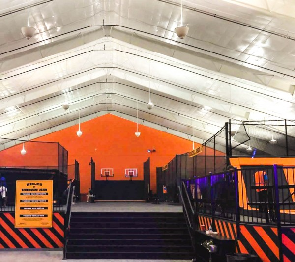 Trampoline park design in rockwall texas for Indoor trampoline park design manufacturing